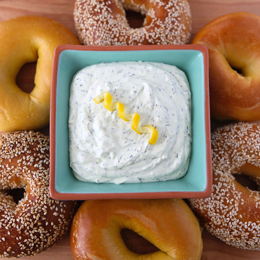 Lemon Dill Cream Cheese