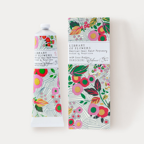 Mother's Day Gifts, Library of Flowers, hand, cream