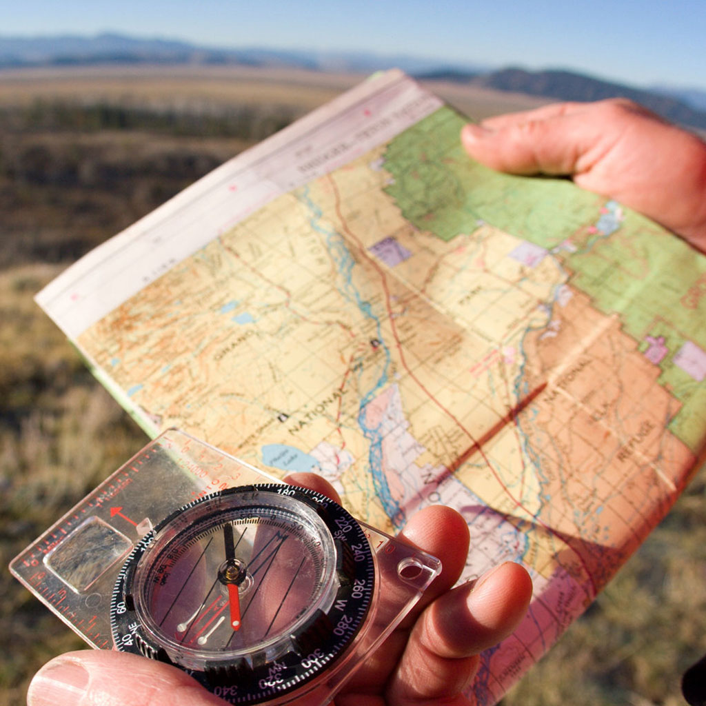 Tools to navigate if the GPS dies.