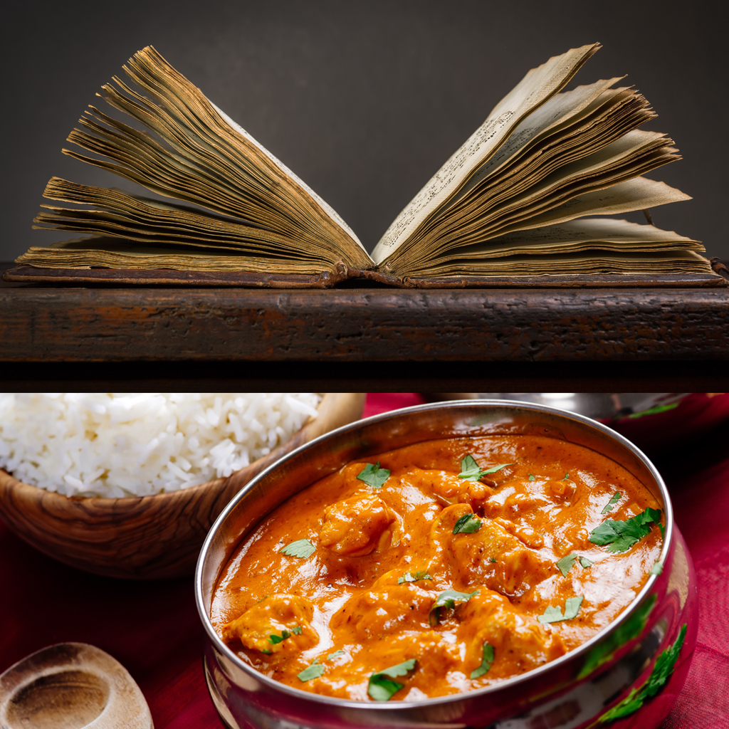 MONKS FIND 200 YEAR OLD CURRY RECIPE FWX