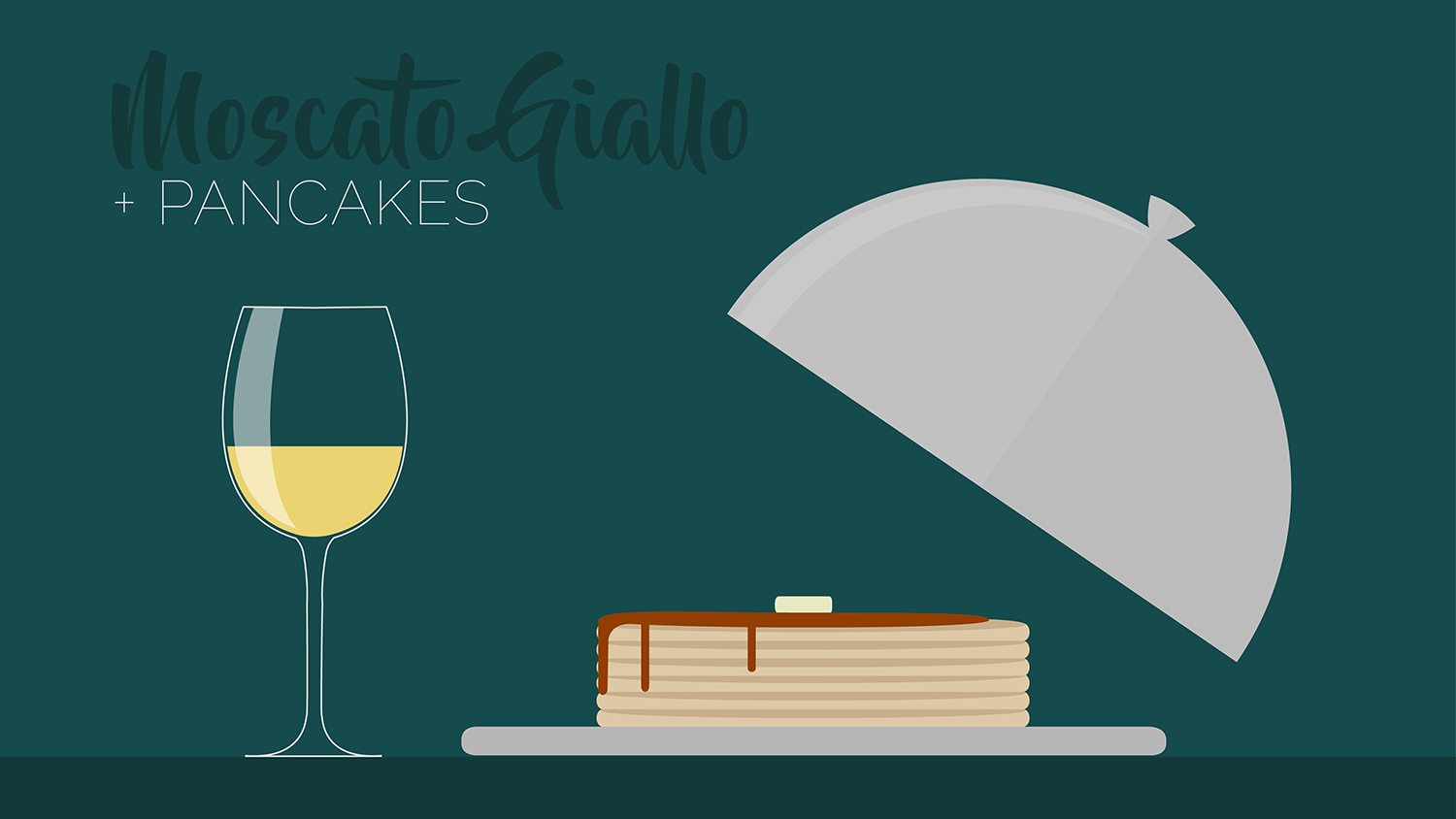sweet breakfasts pairs well with moscato