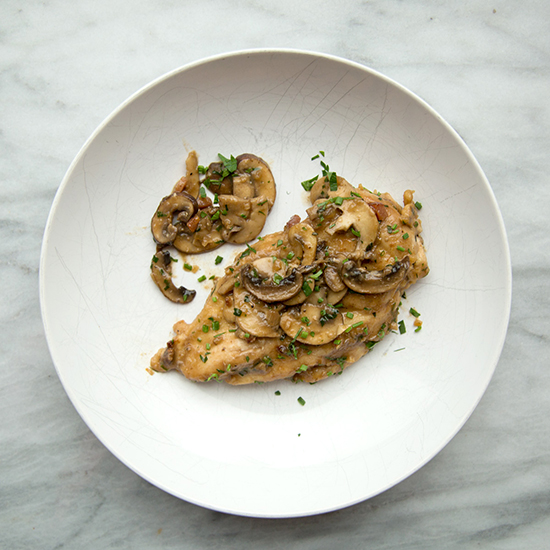 5. Chicken Marsala