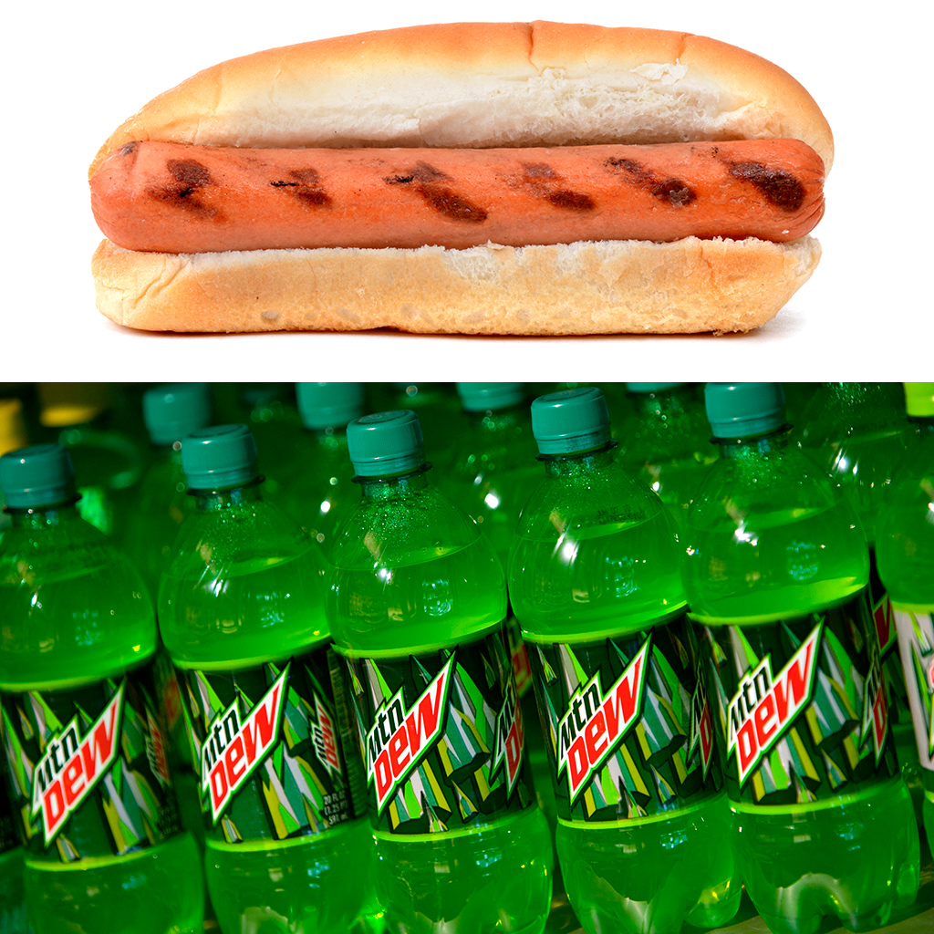 Mountain Dew, Hot Dog