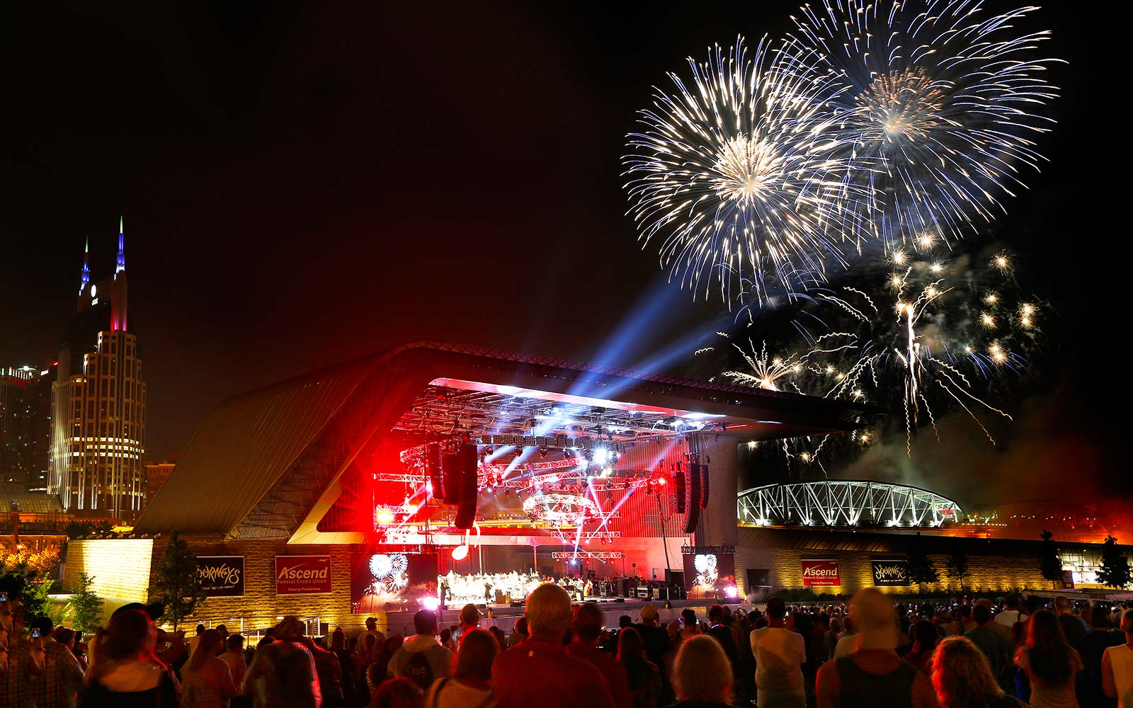 Fourth of July Independence Day Celebrations Holiday Let Freedom Sing! Music City Nashville Tennessee