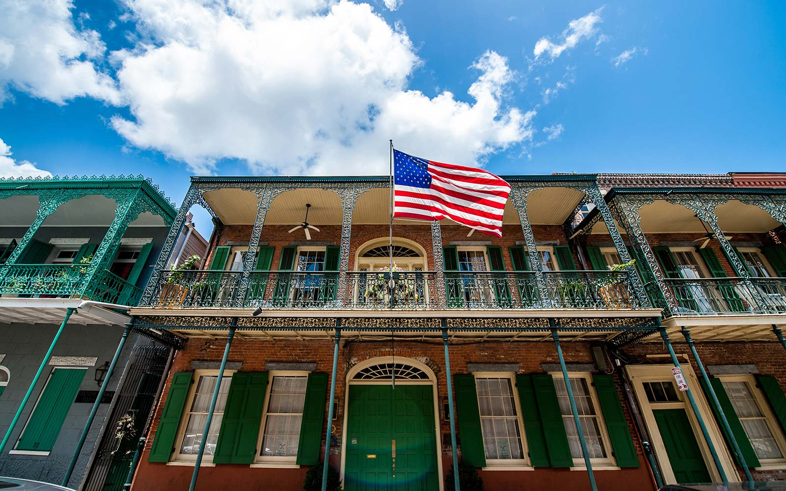 Fourth of July Independence Day Celebrations Holiday New Orleans Louisiana French Quarter