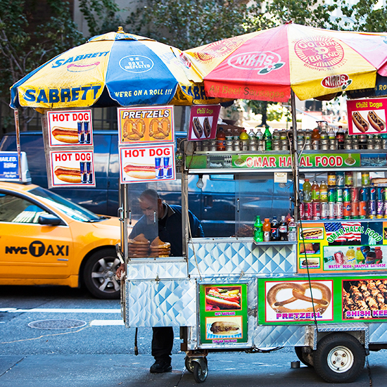 New York City Food Vendor