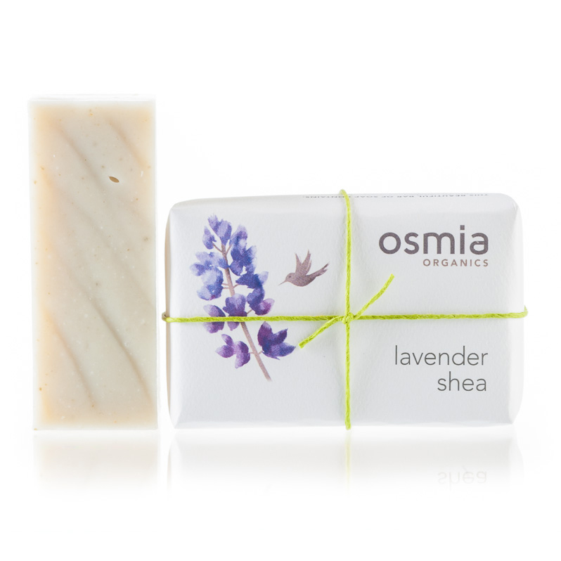 Mother's Day Gifts, Osmia Organics, soap, shea, lavender