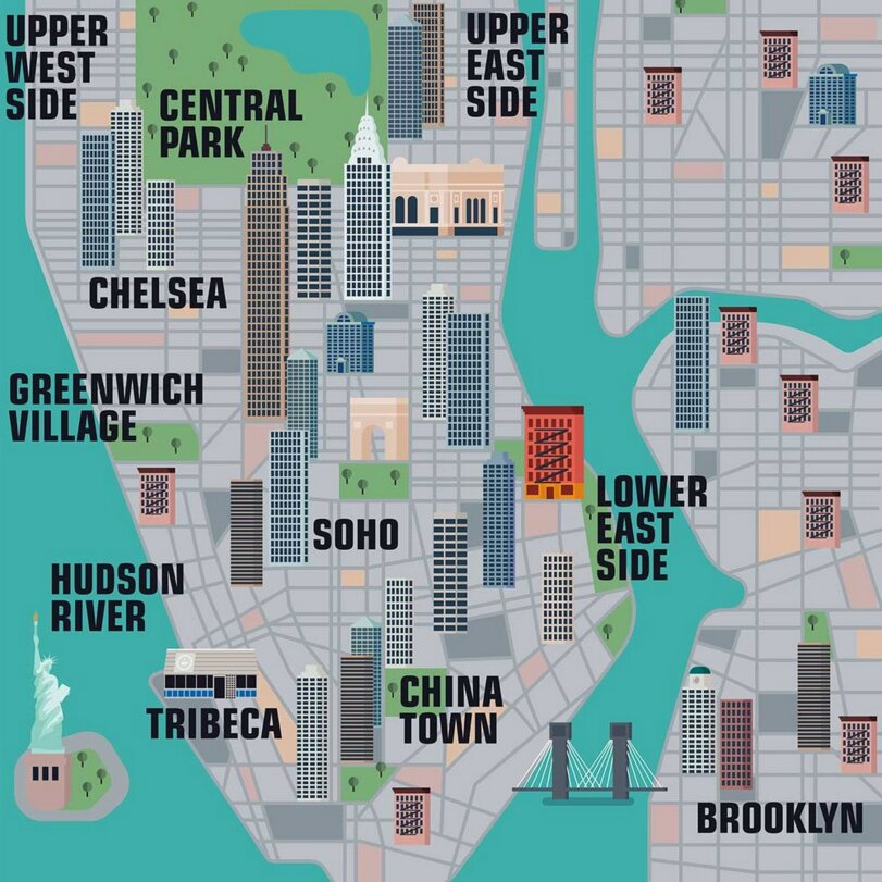 New Interactive Map Lets You Explore Thousands of New York ...