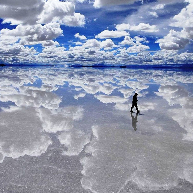 The Salt Flat, Bolivia