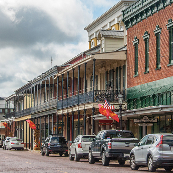 Front Street, Natchitoches, LA