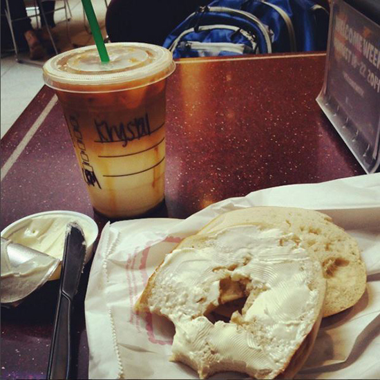 For Breakfast: Bagels (Plain or Everything)