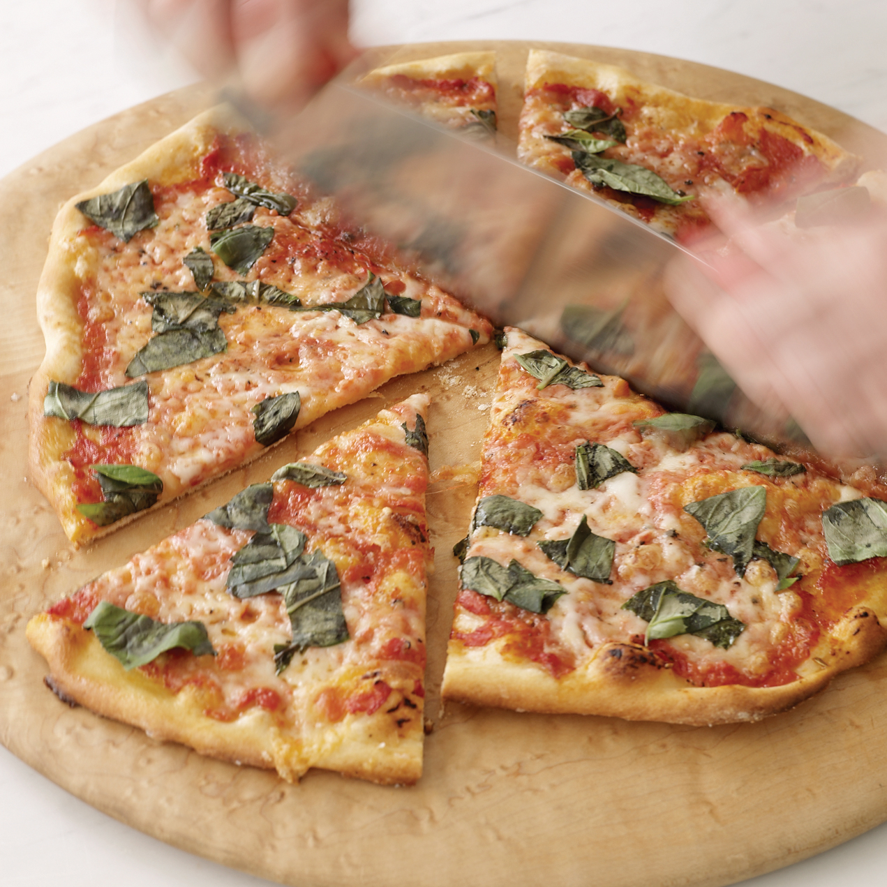 For Traditionalists: Perfect Pizza Margherita