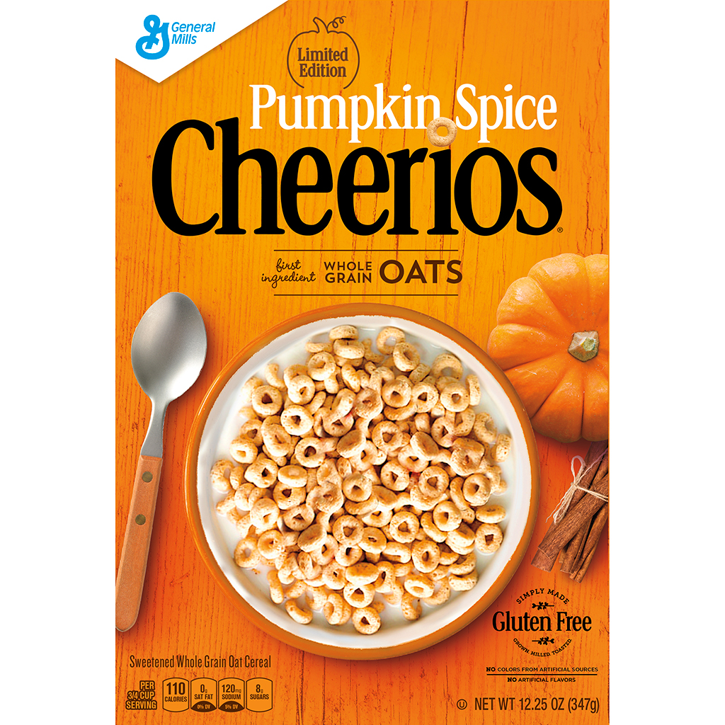 General Mills, Pumpkin Spice, Cheerios