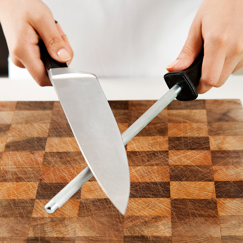 Keep Your Knives Sharp and Aligned