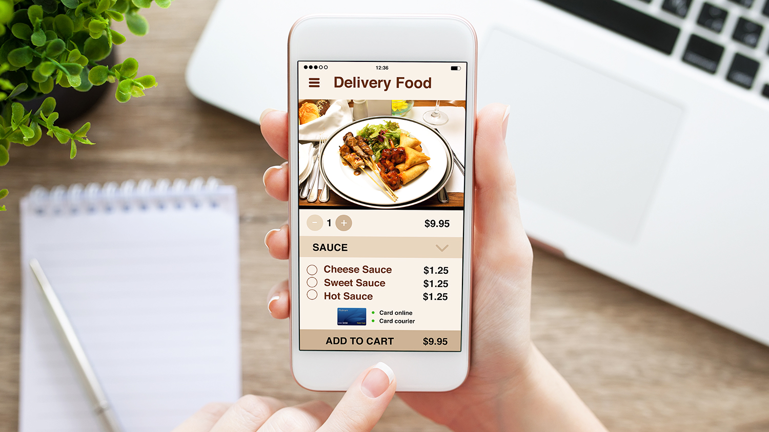 restaurant food delivery service