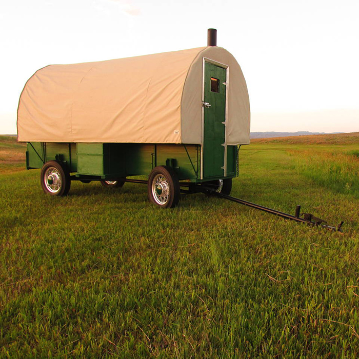 Airbnb, outdoor, rental, wagon