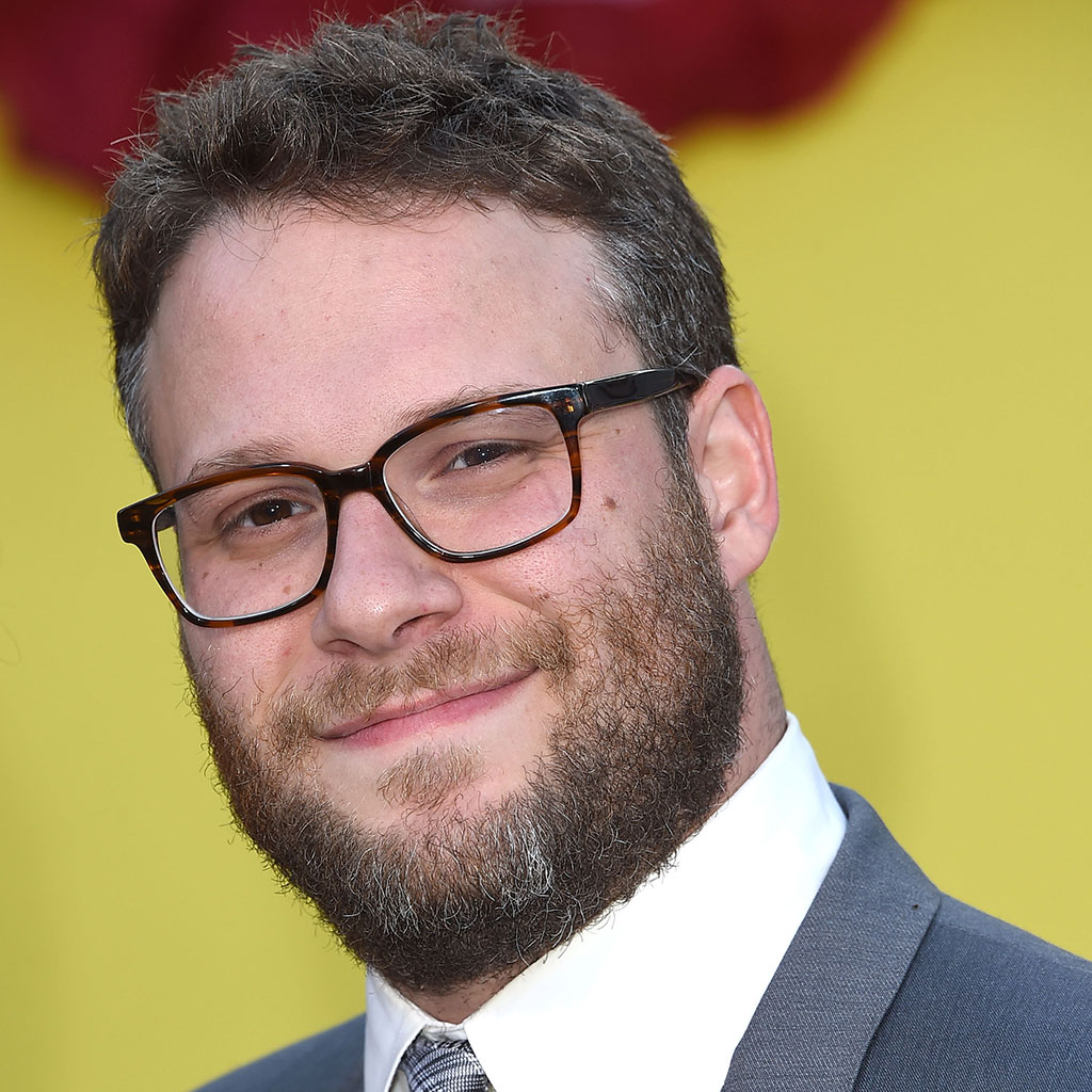 Seth Rogen, grocery store, shoppers