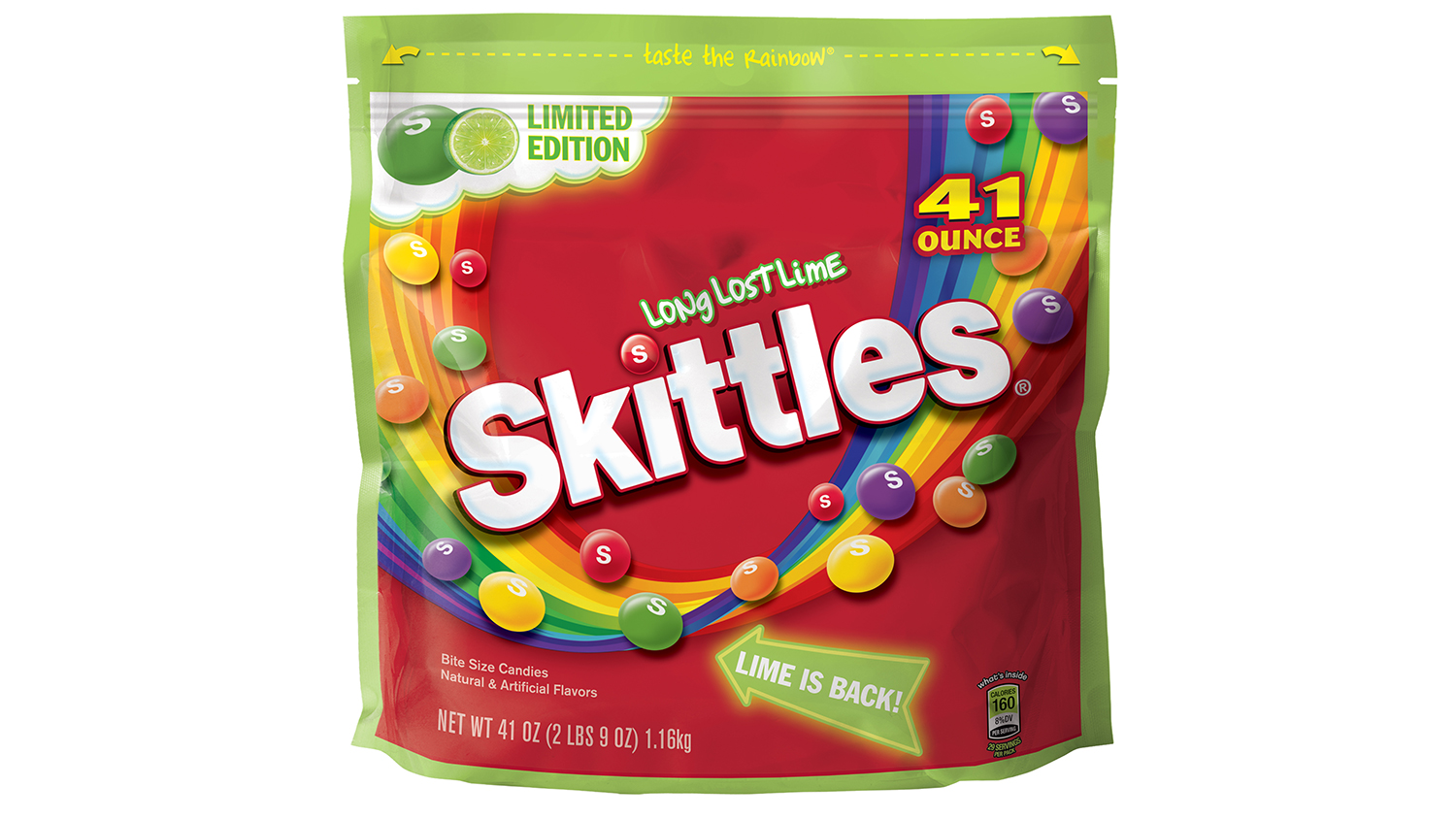 long lost lime skittles have returned