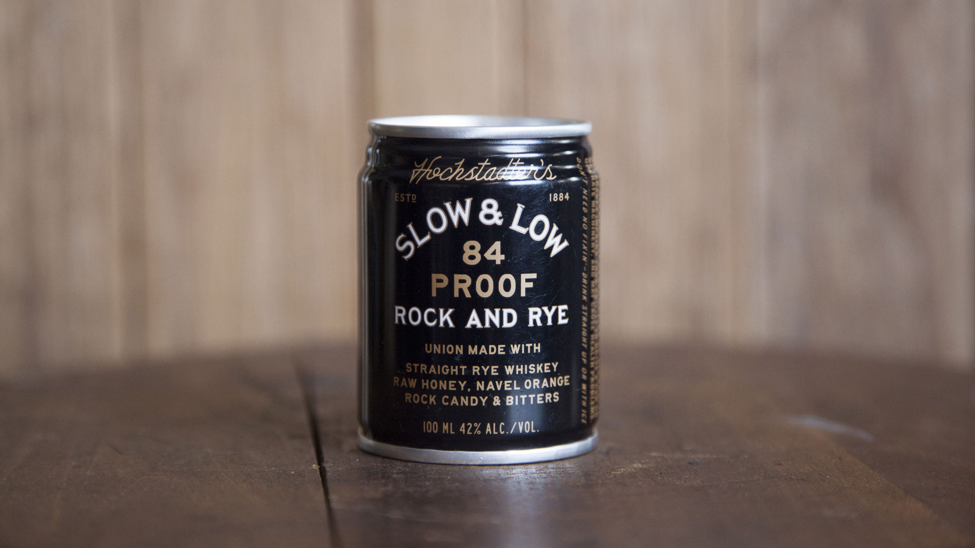 Slow and Low Rock & Rye