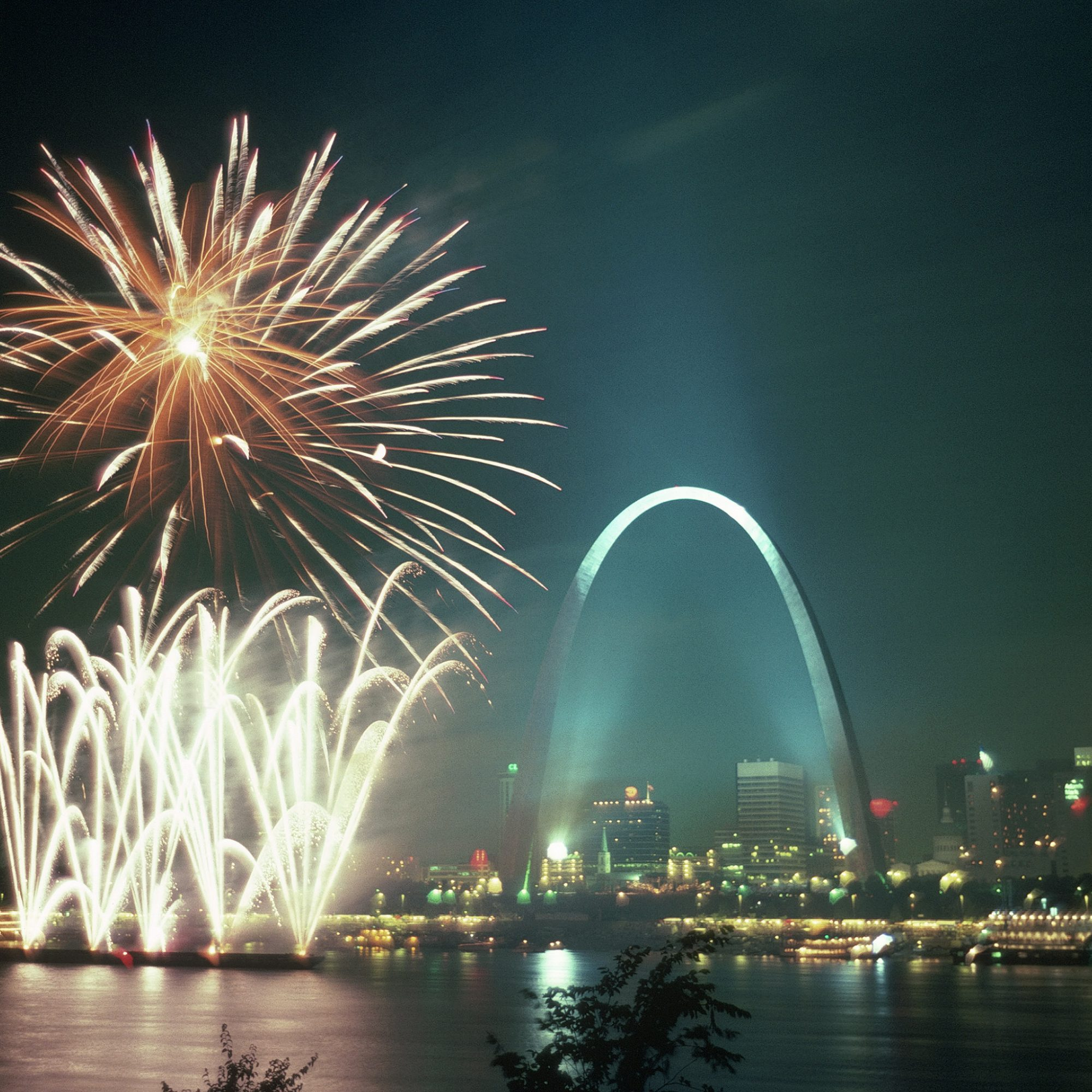 Fireworks, Fourth of July, St. Louis