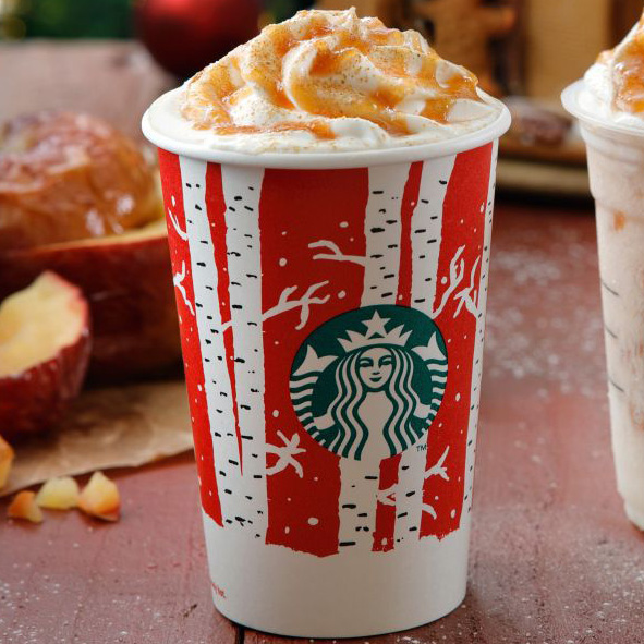 starbucks baked apple latte