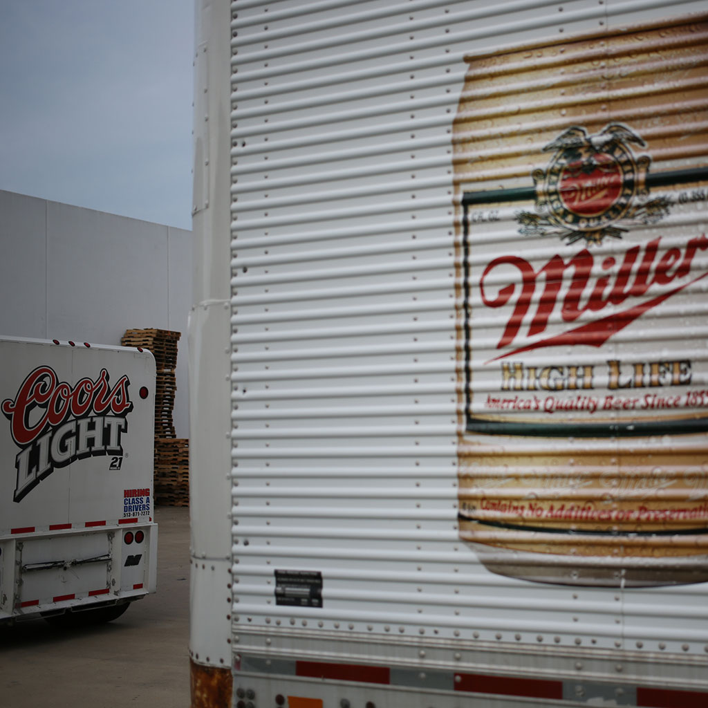 STRANDED BEER TRUCKS IN SAN FRANCISCO FWX