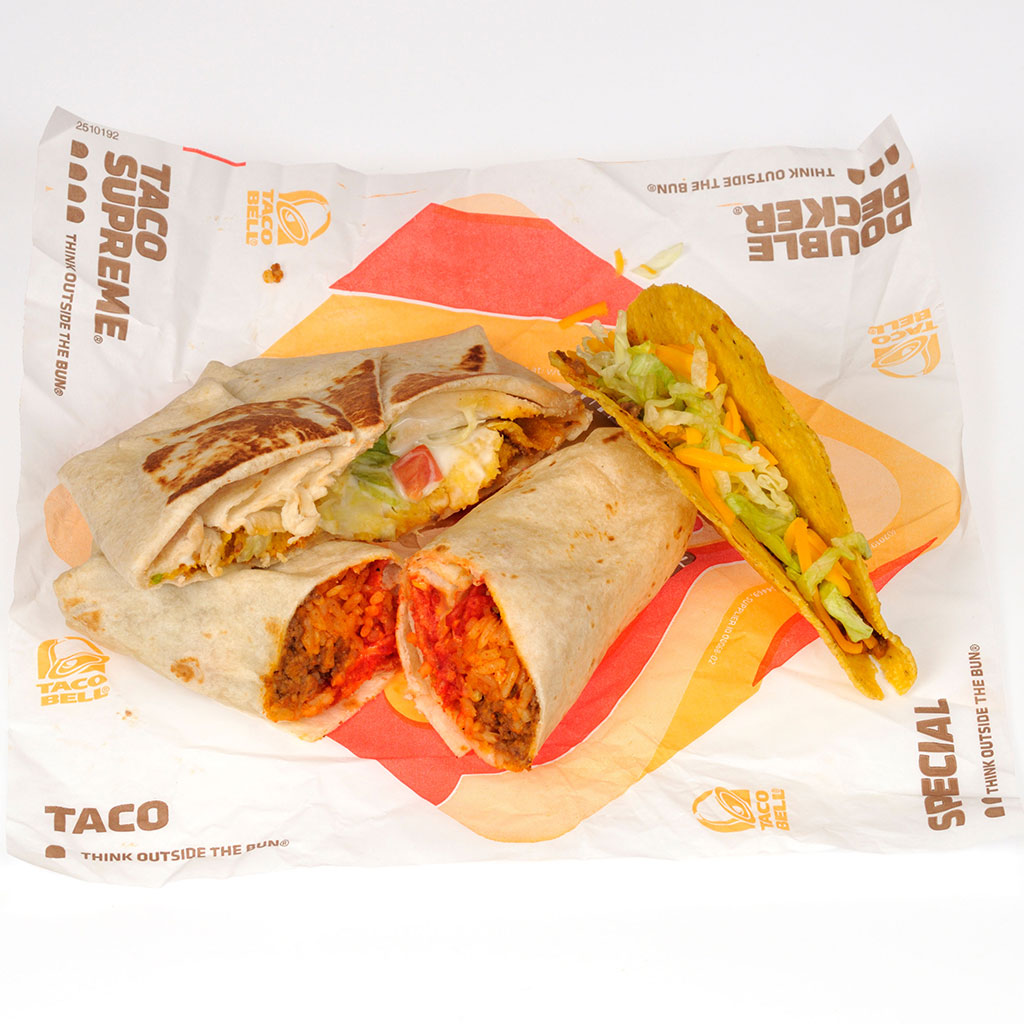 TACO BELLS SURPRISE MENU FWX