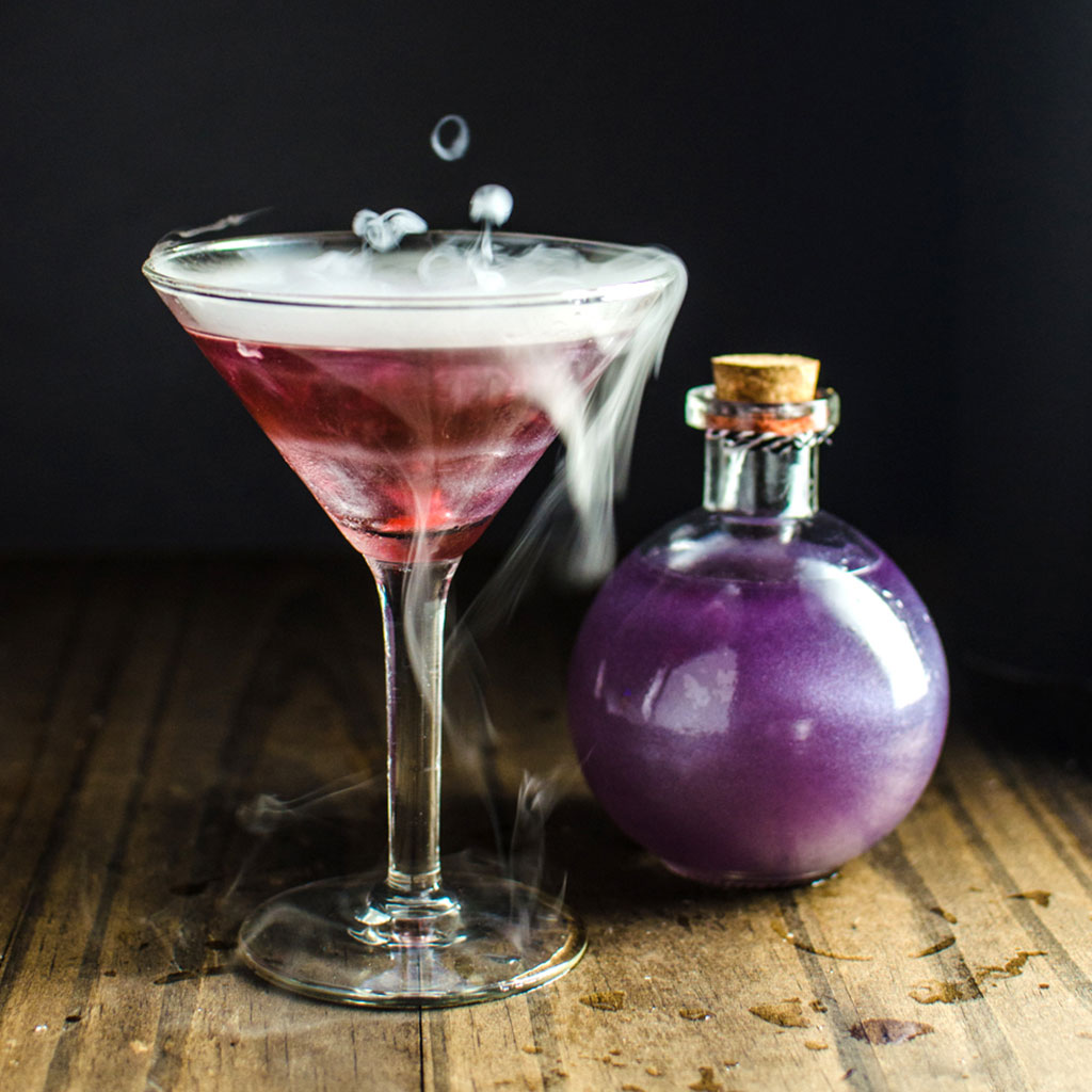 The Witch's Heart Martini