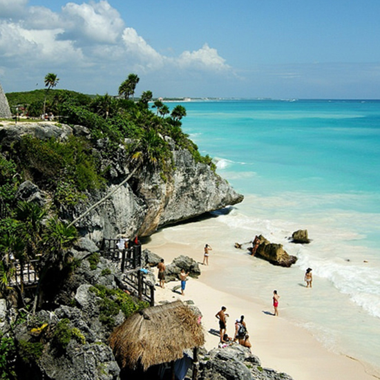 Best for Kids: Paraiso Beach (Tulum, Mexico)