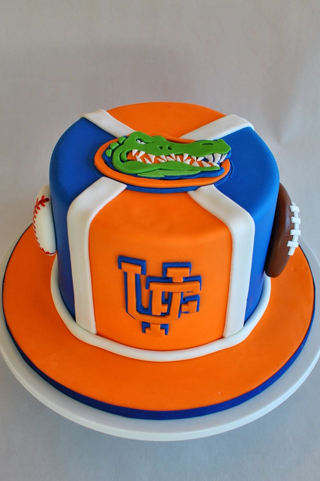 University of Florida Gators Grooms Cake