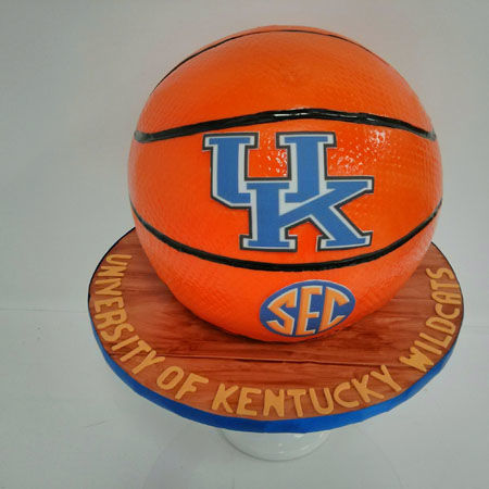 University of Kentucky Basketball Grooms Cake