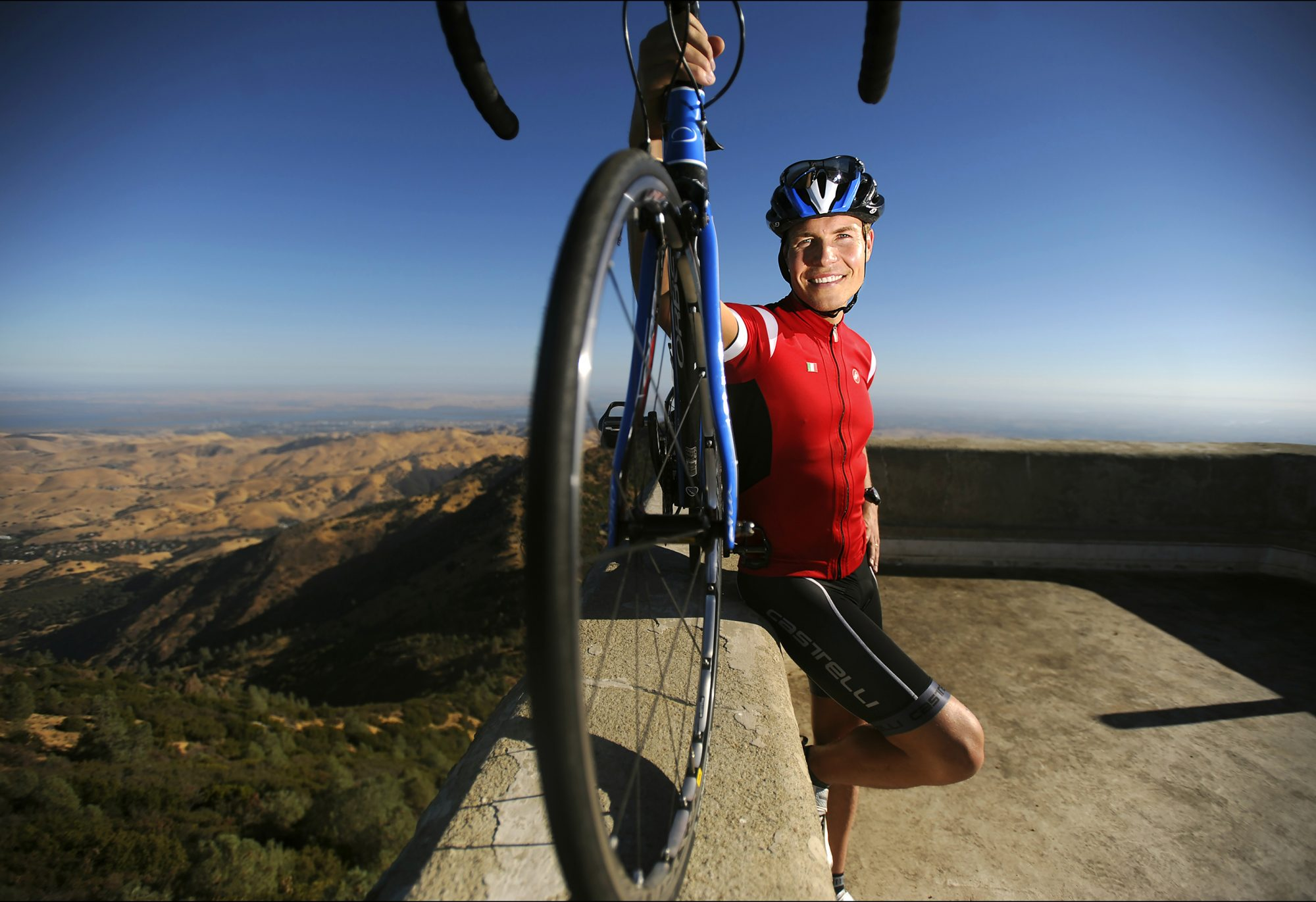 Trulia.com Co-Founder Sami Inkinen At The Mount Diablo Challenge Bicycle Race