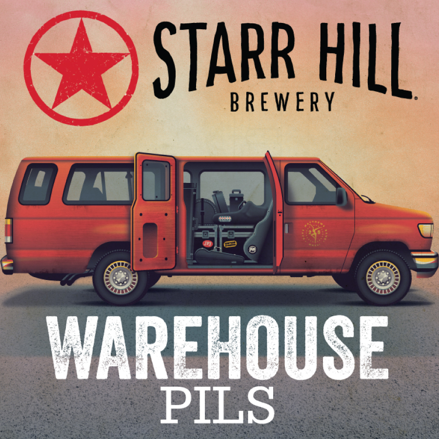 Starr Hill Brewery, Warehouse Pils, beer