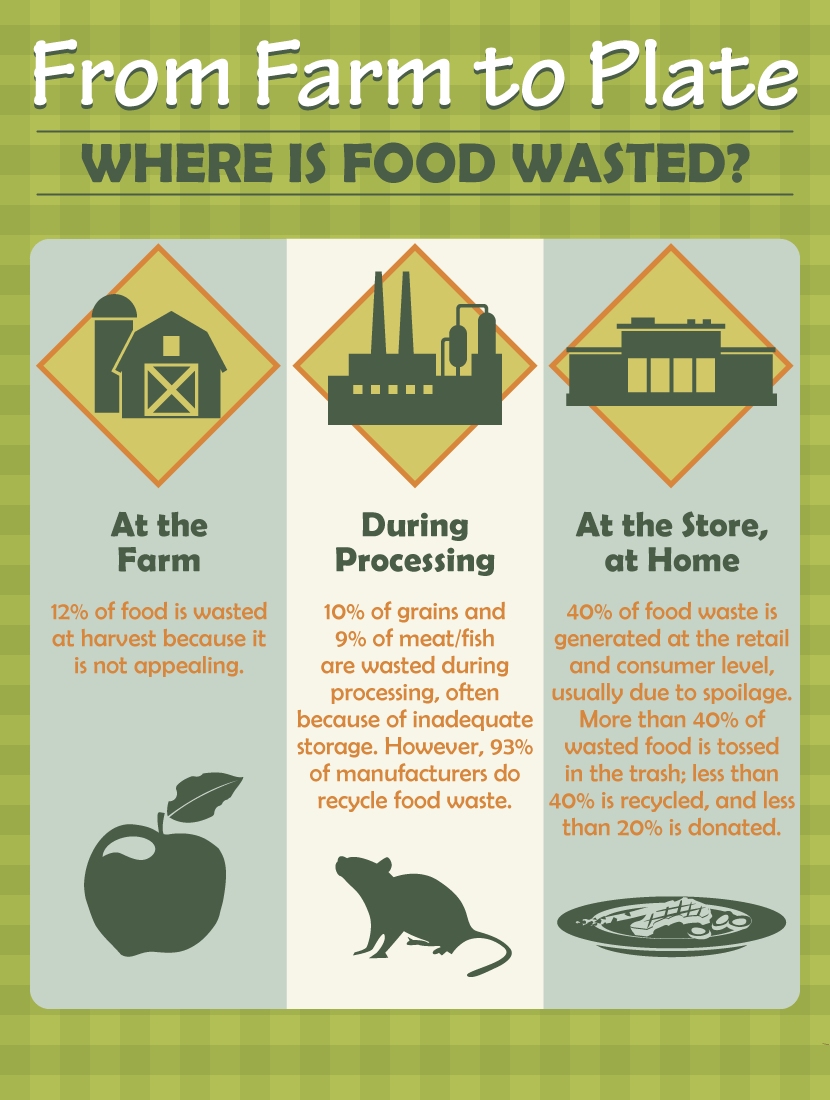 Where Food is Wasted