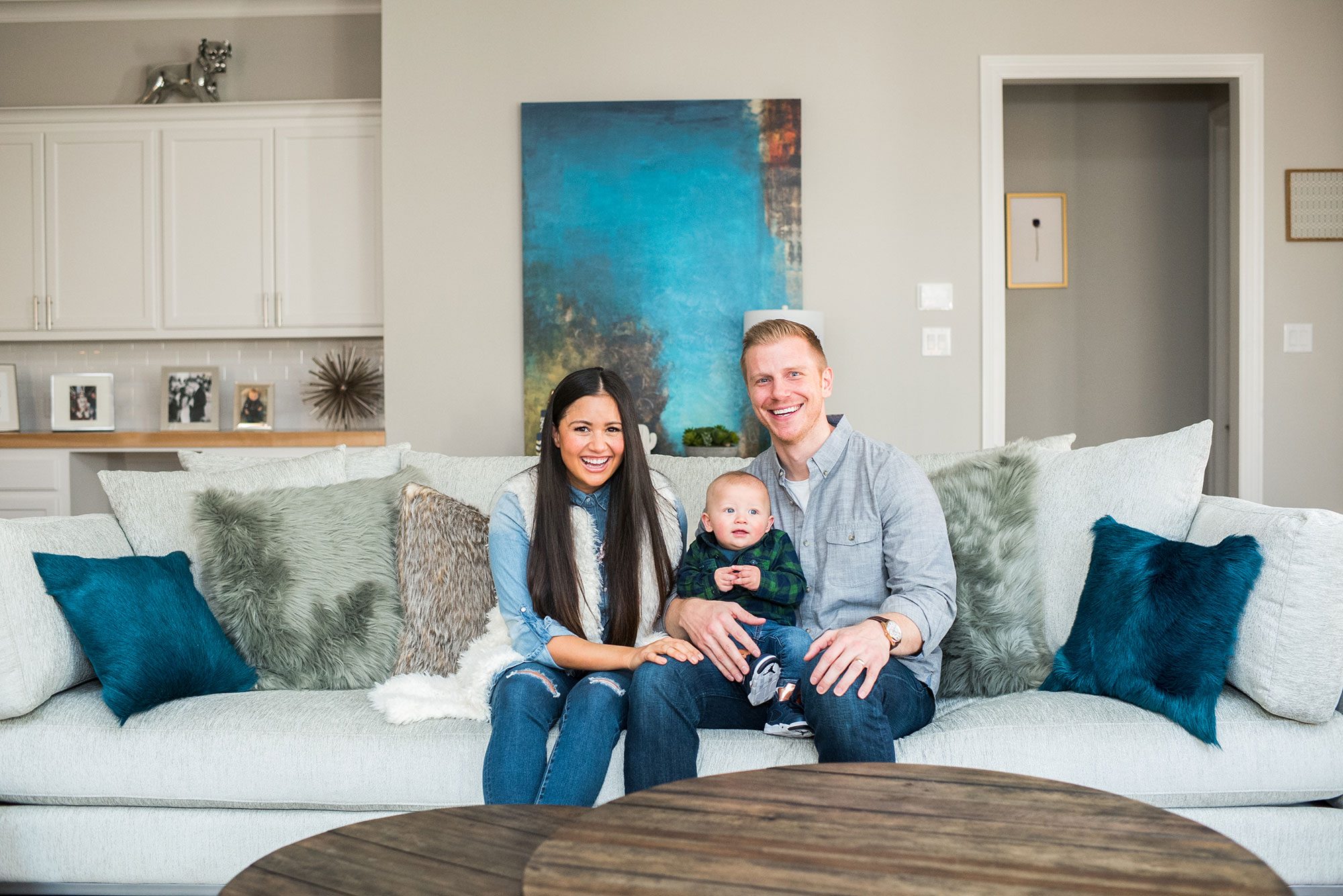Sean and Catherine Lowe's Family Home
