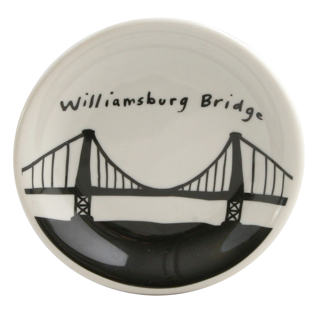 Williamsburg Bridge Dish