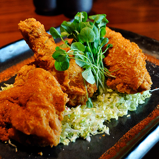 Fried Chicken at Blue Ribbon Sushi Bar & Grill; Las Vegas, NV