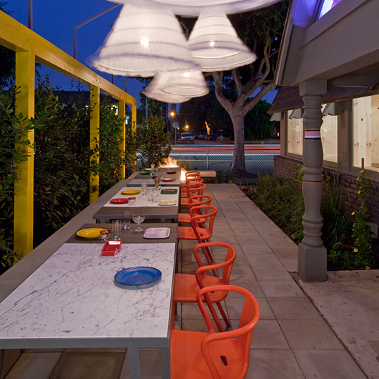 Best Outdoor Dining: A-Frame, Los Angeles