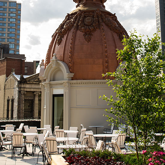 Best Outdoor Dining: The NoMad Rooftop, New York