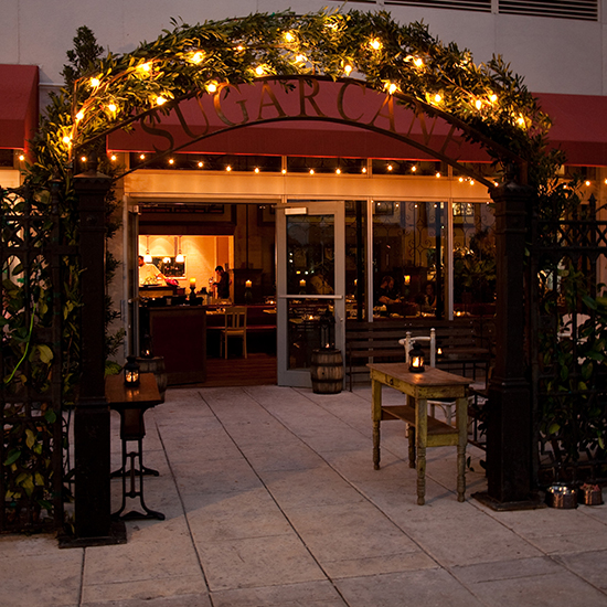 Best Outdoor Dining: Sugarcane Raw Bar Grill, Miami