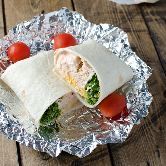Quick-and-Easy Rotisserie Chicken Burrito