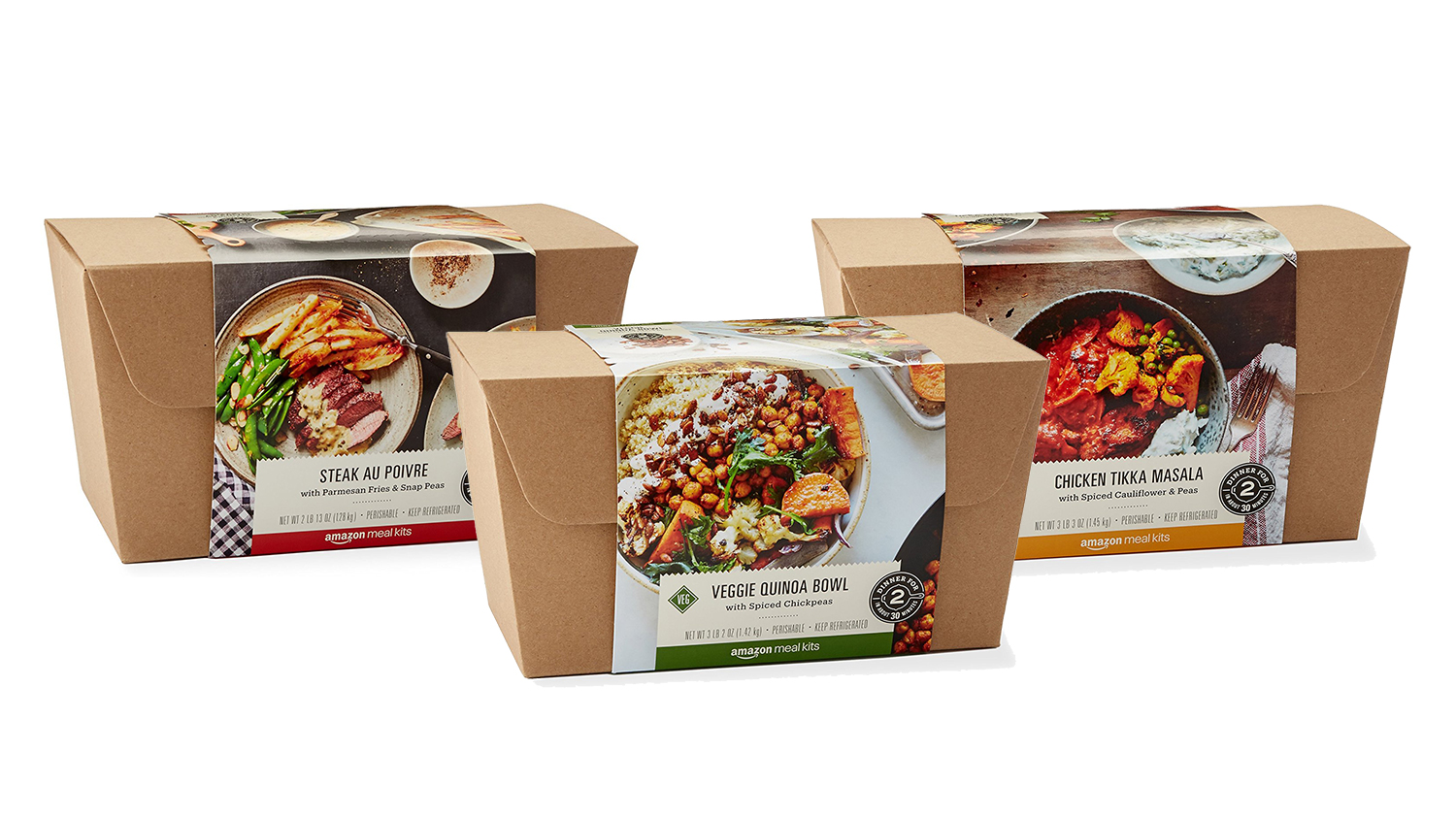 meal kits from amazon