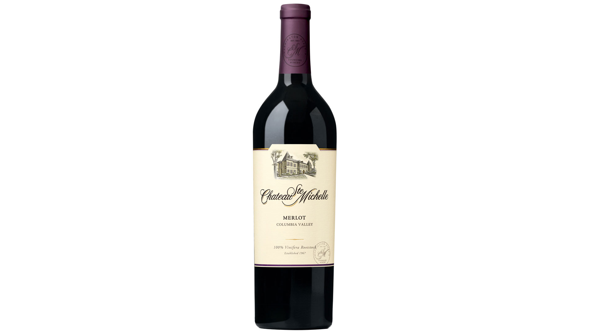 Ste城堡。米歇尔 Columbia Valley Merlot ($15)