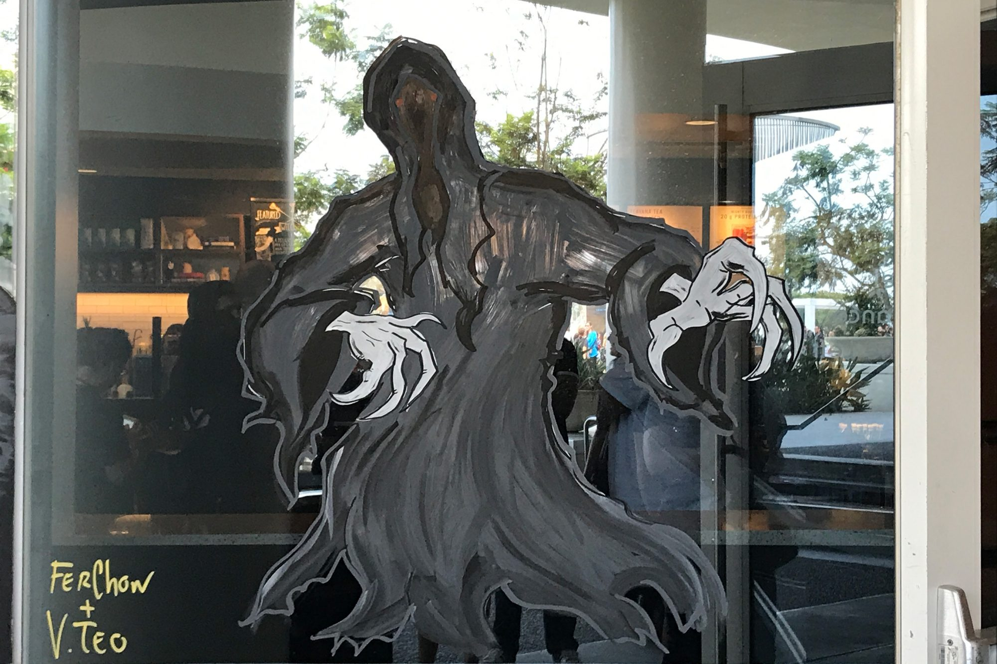 Look out for the dementor!