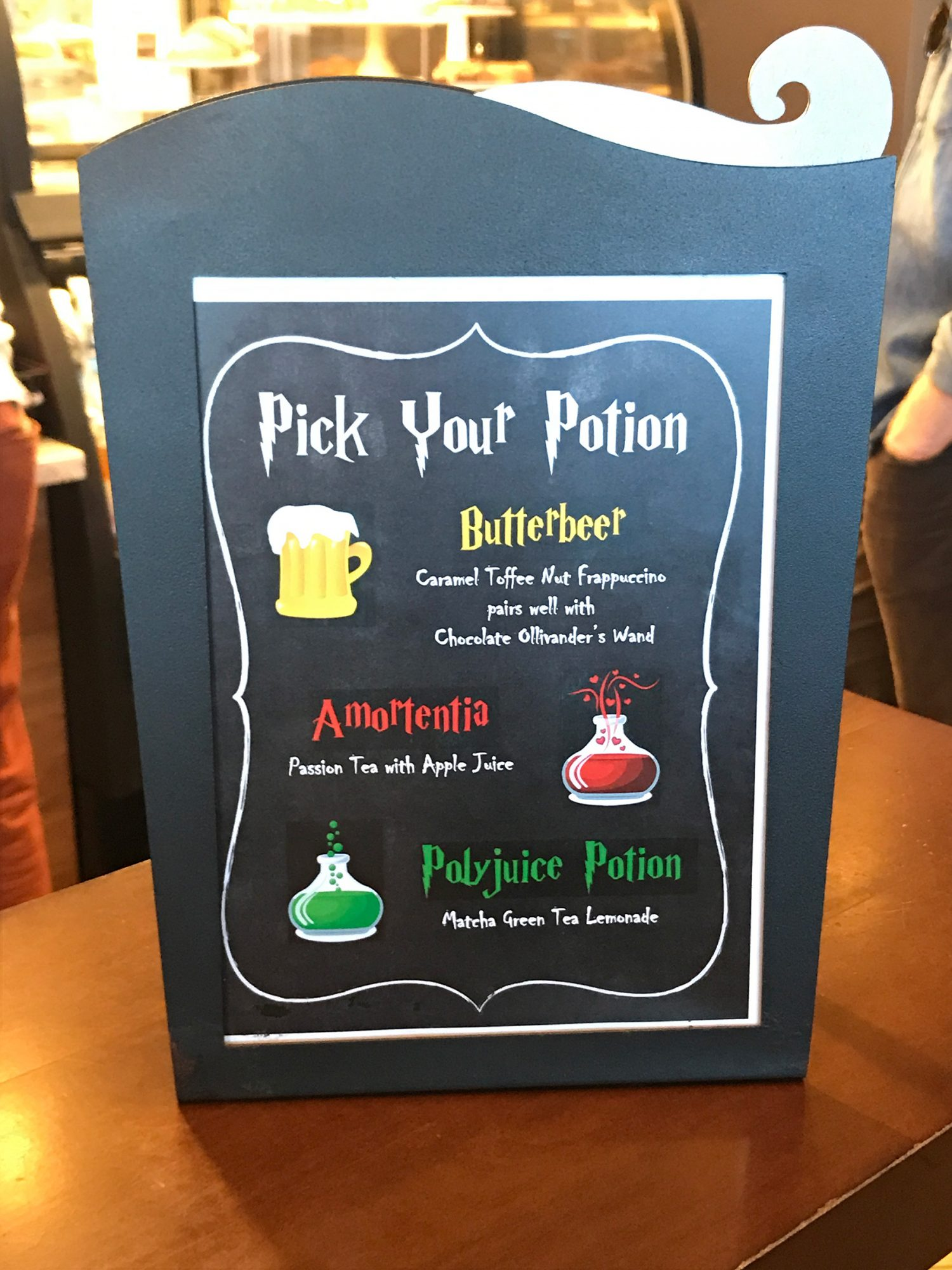 Pick your potion