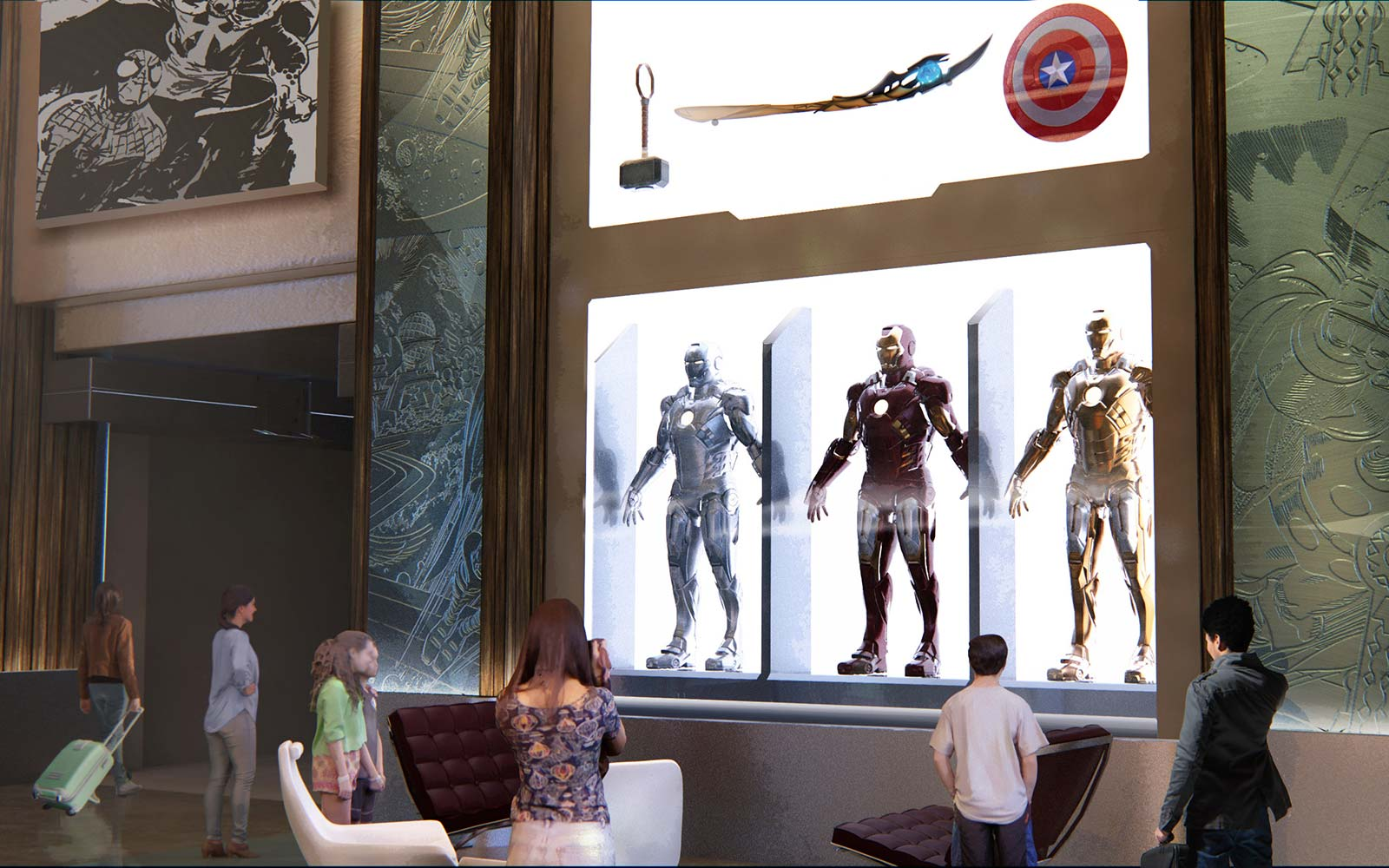 MARVEL-THEMED HOTEL COMING TO DISNEYLAND PARIS -- Disney's Hotel New York – The Art of Marvel at Disneyland Paris will transport guests to the action-packed world of Super Heroes