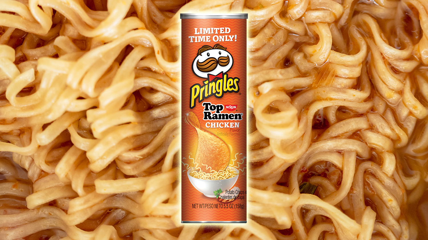 ramen noodles and pringles new flavor mash-up