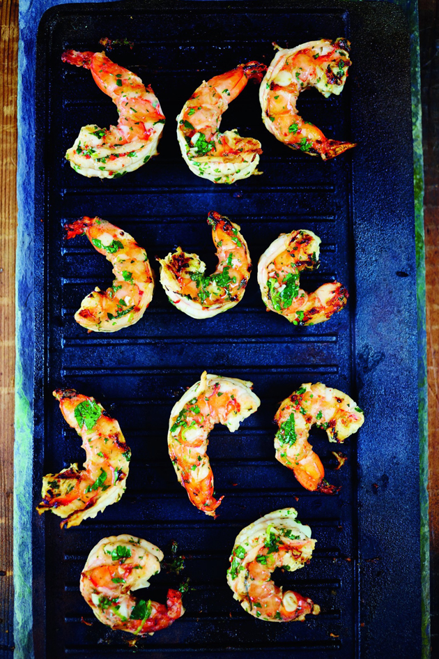 Recipe for Prawns With Gin & Lime by Pippa Middleton