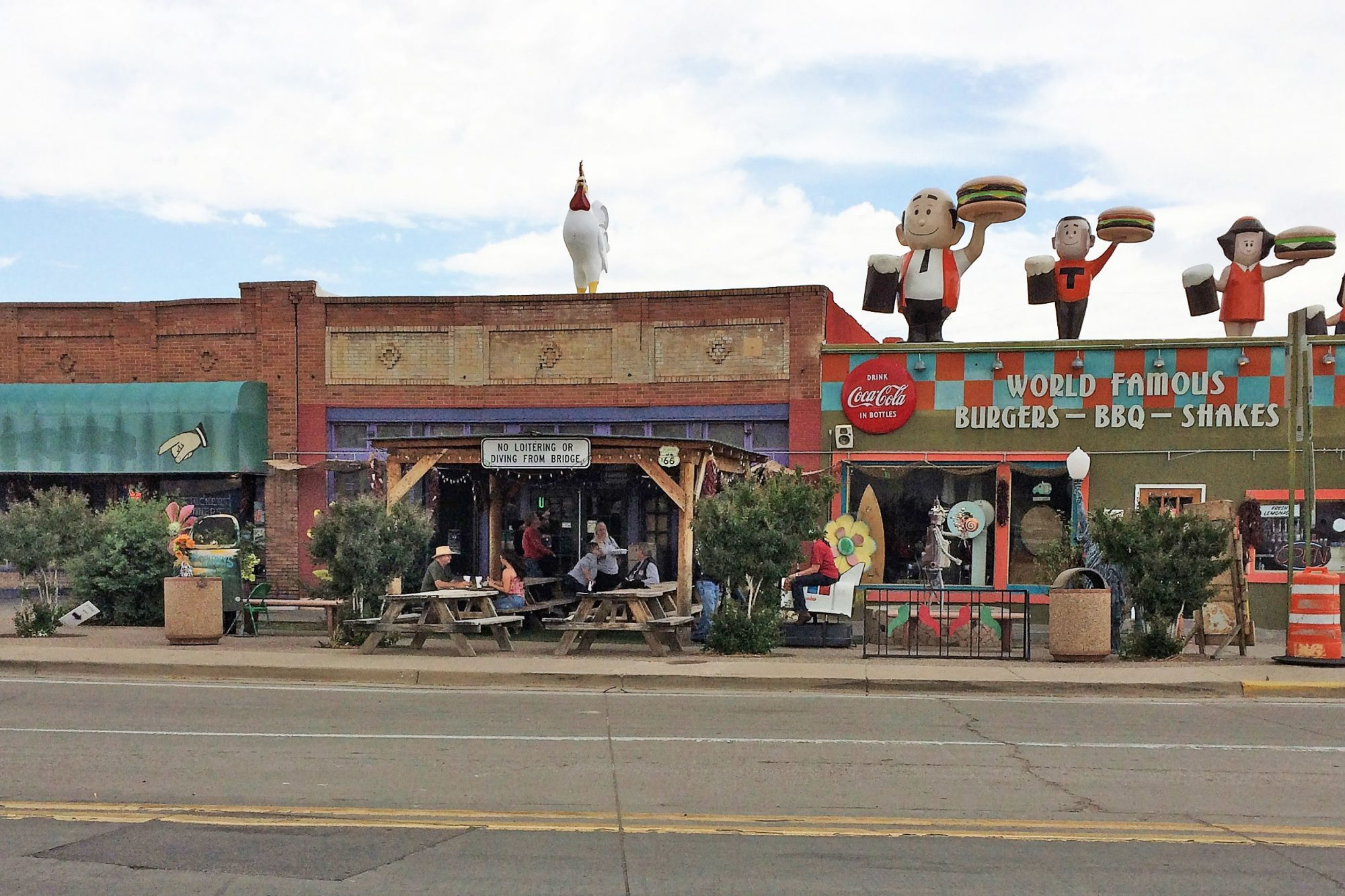 Sparky's in Hatch, New Mexico
