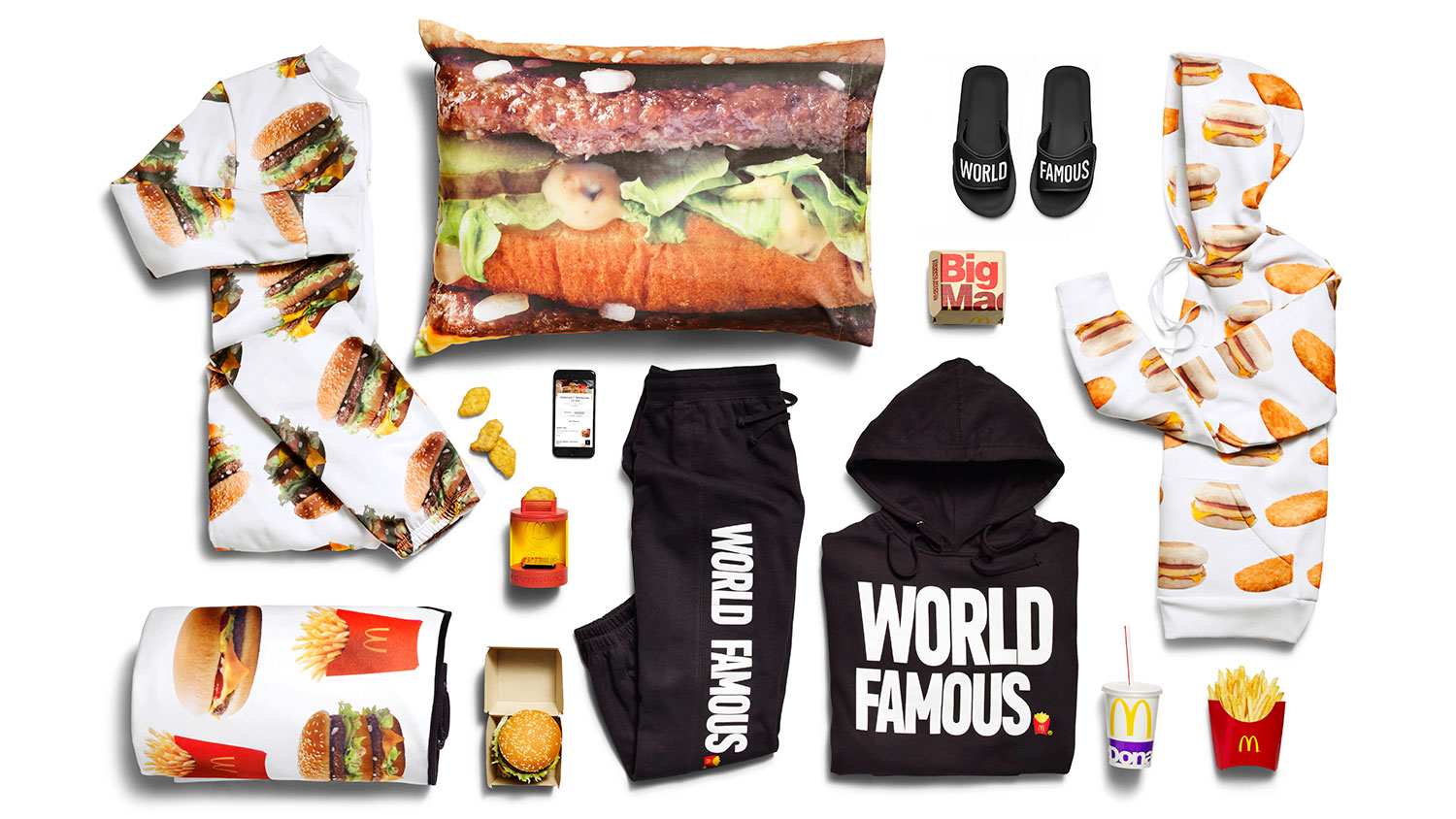 the mcdelivery collection mcdonalds merchandise